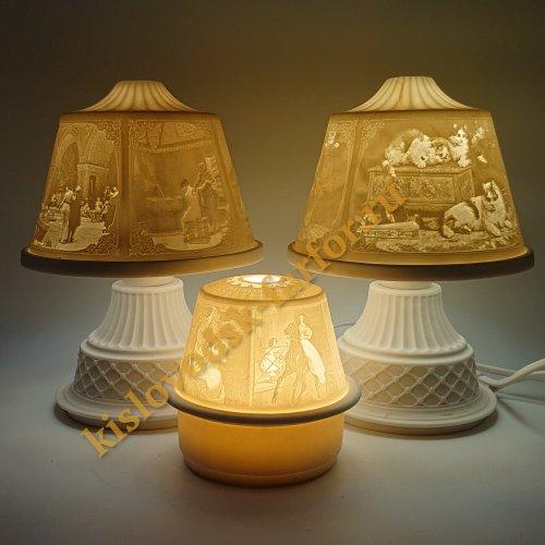 Светильники - Литофания