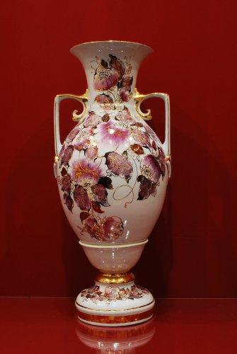 2049 Ваза Баронесса Мерцающий букет Коллекции-Мерцающий букет-розовый-490мм-13590-Ф