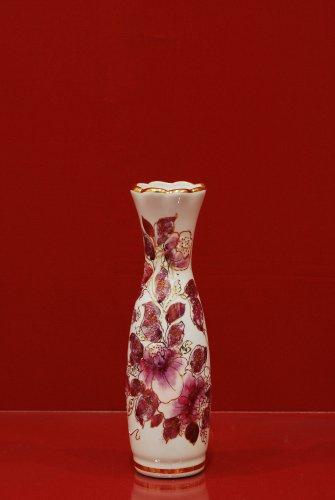 2075 Ваза Лето Мерцающий букет Коллекции-Мерцающий букет-розовый-200 мм-506-Ф