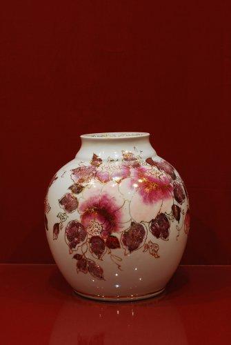 2106 Ваза Сказка  Мерцающий букет Коллекции-Мерцающий букет-розовый-210мм-3543-Ф