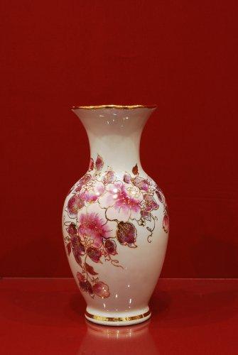 2109 Ваза Степной аромат Мерцающий букет Коллекции-Мерцающий букет-розовый-250мм-1560-Ф