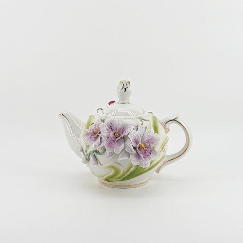 """Чайник цветы (мини)  Коллекция """"Очарование"""""""