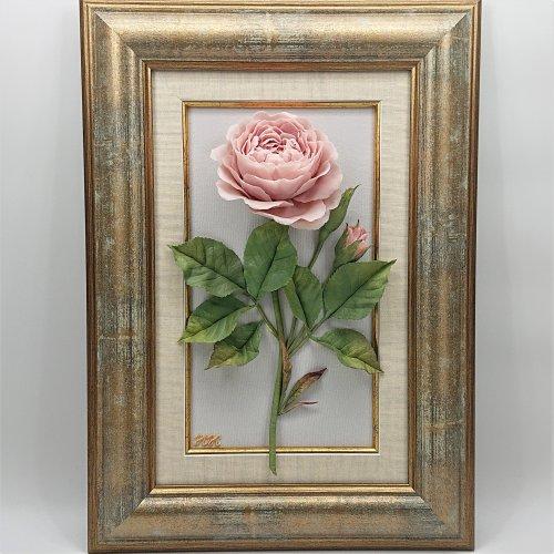 """Панно """"Роза"""" 2"""