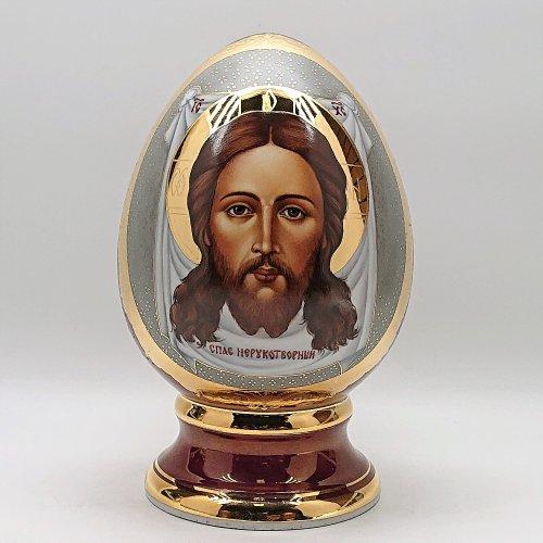 """Яйцо """"Спас Нерукотворный"""" среднее"""