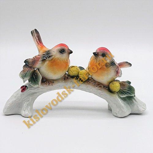 "Скульптура ""Птички на ветке""2"