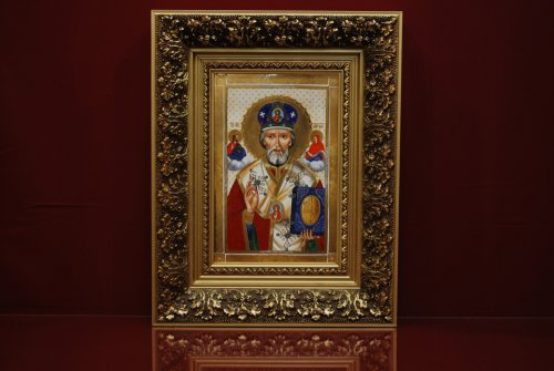 Икона Николая Чудотворца 47 см