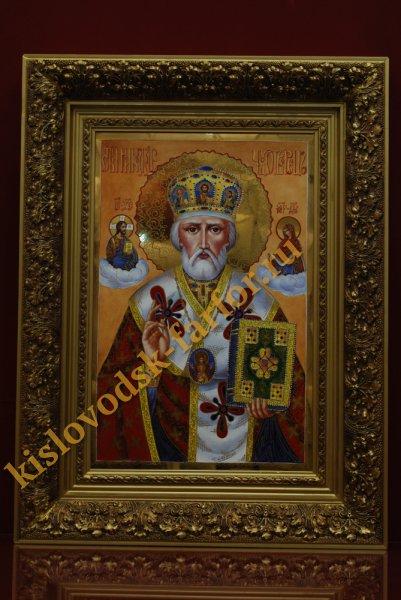 Икона Николая Чудотворца 70 см