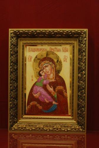 Икона Владимирской богоматери 70 см
