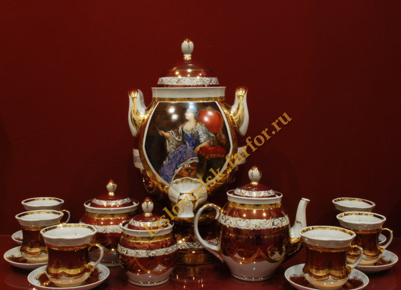 Набор Сударь, электр., 6 перс. h500 (Екатерина) масло
