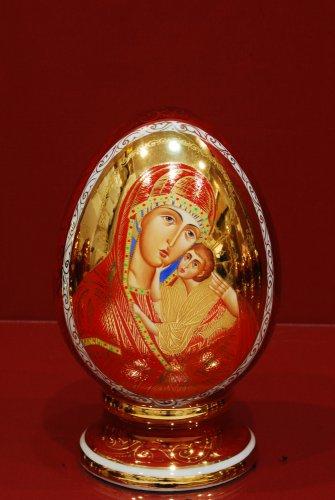 Умиление Богоматерь Новгородская 19 см