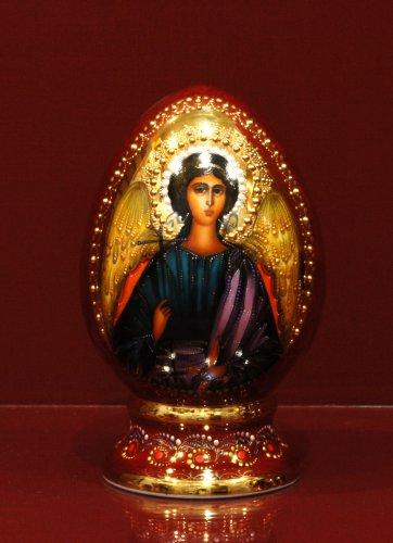 Яйцо в капельном золоте h200 (Архангел)
